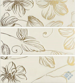 Декор (20х60) DECOR ANYA GOLD CREAM EAY74