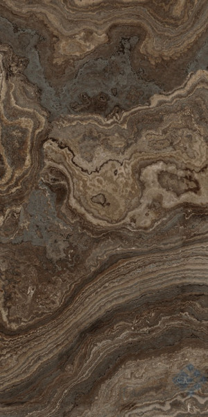 Плитка (60x120) BROWN WAVE RHAPSODY LEVIGATO